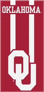 Northwest NCAA Oklahoma Zone Read Beach Towel