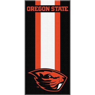 Northwest NCAA Oregon State Zone Read Beach Towel