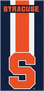Northwest NCAA Syracuse Zone Read Beach Towel
