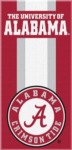 Northwest NCAA Alabama Zone Read Beach Towel