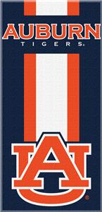 Northwest NCAA Auburn Zone Read Beach Towel