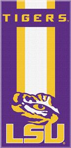 Northwest NCAA LSU Zone Read Beach Towel