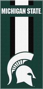 Northwest NCAA Michigan St. Zone Read Beach Towel