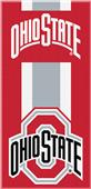 Northwest NCAA Ohio State Zone Read Beach Towel