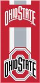 Northwest NCAA Ohio State Zone Read Beach Towel