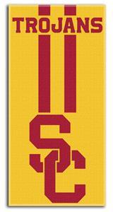 Northwest NCAA USC Zone Read Beach Towel