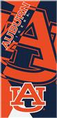 Northwest NCAA Auburn Puzzle Beach Towel