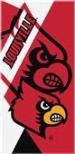 Northwest NCAA Louisville Puzzle Beach Towel