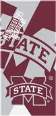 Northwest NCAA Mississippi St. Puzzle Beach Towel