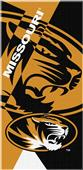 Northwest NCAA Missouri Puzzle Beach Towel