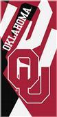 Northwest NCAA Oklahoma Puzzle Beach Towel