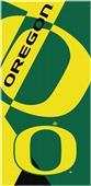 Northwest NCAA Oregon Puzzle Beach Towel