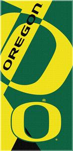 Northwest NCAA Oregon Puzzle Beach Towel