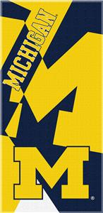 Northwest NCAA Michigan Puzzle Beach Towel