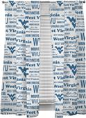 Northwest NCAA WV Anthem Window Panels Pair