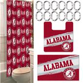 Northwest NCAA Alabama 15-Piece Bath Set