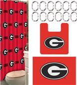 Northwest NCAA Georgia 15-Piece Bath Set