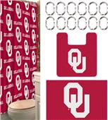 Northwest NCAA Oklahoma 15-Piece Bath Set