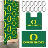 Northwest NCAA Oregon 15-Piece Bath Set