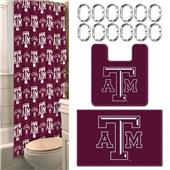 Northwest NCAA Texas A&M 15-Piece Bath Set