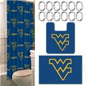 Northwest NCAA West Virginia 15-Piece Bath Set