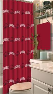 Northwest NCAA Arkansas Shower Curtain