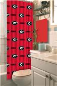 Northwest NCAA Georgia Shower Curtain