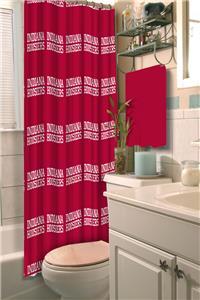 Northwest NCAA Indiana Shower Curtain