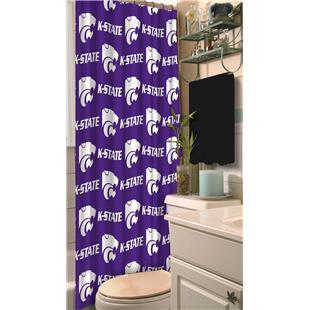 Northwest NCAA Kansas State Shower Curtain