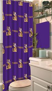 Northwest NCAA LSU Shower Curtain