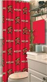 Northwest NCAA Maryland Shower Curtain