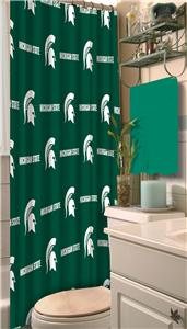 Northwest NCAA Michigan State Shower Curtain