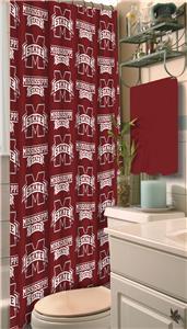Northwest NCAA Mississippi State Shower Curtain