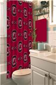 Northwest NCAA South Carolina Shower Curtain