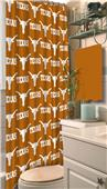 Northwest NCAA Texas Shower Curtain