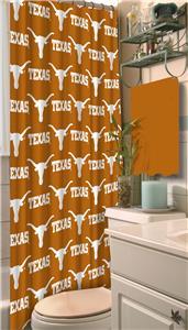 Northwest NCAA Texas Shower Curtain