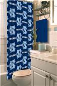 Northwest NCAA UNC Shower Curtain