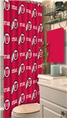 Northwest NCAA Utah Shower Curtain