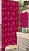 Northwest NCAA Virginia Tech Shower Curtain