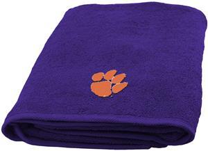 Northwest NCAA Clemson Appliqué Bath Towel