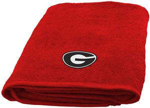 Northwest NCAA Georgia Appliqué Bath Towel