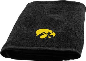 Northwest NCAA Iowa Appliqué Bath Towel