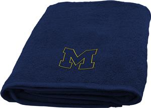 Northwest NCAA Michigan Appliqué Bath Towel