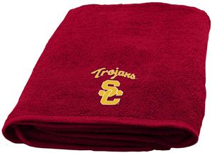 Northwest NCAA USC Appliqué Bath Towel
