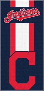 Northwest MLB Indians Zone Read Beach Towel