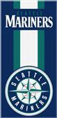 Northwest MLB Mariners Zone Read Beach Towel