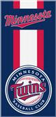 Northwest MLB Twins Zone Read Beach Towel