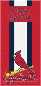 Northwest MLB Cardinals Zone Read Beach Towel
