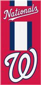 Northwest MLB Nationals Zone Read Beach Towel