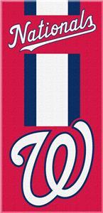 Northwest MLB Nationals Zone Read Beach Towel